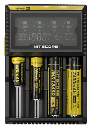 Фото зарядки Nitecore Digicharger D4