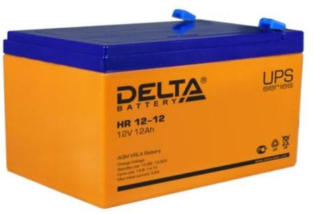 AGM АКБ для ИБП Delta HR 12-12