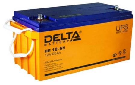 АКБ для ИБП газовых котлов отопления Delta HR 12-65
