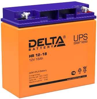 АКБ для ИБП котла отопления Delta HR 12-18