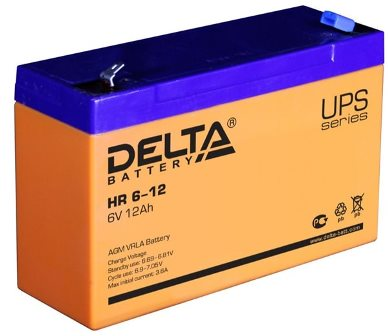 АКБ для детского электромобиля Delta HR 6-12