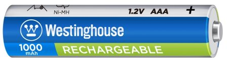 Аккумуляторная батарейка Ni MH 1.2v AAA Westinghouse 1000 mAh