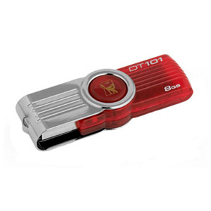 флешка USB Kingston DT101G2 8Gb red