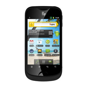 смартфон Fly IQ275 silver black