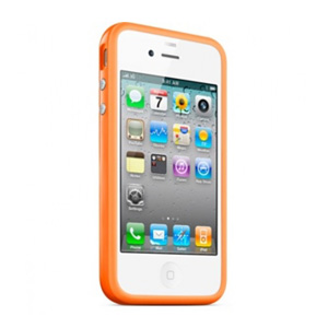 бампер Apple iPhone 4s/ iPhone 4 Bumper orange