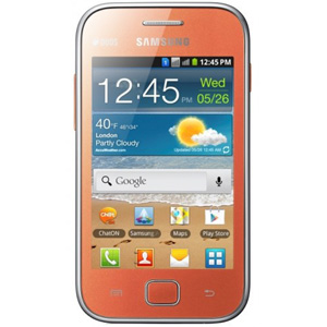 смартфон Samsung GT-S6802 ( Galaxy Ace Duos) orange