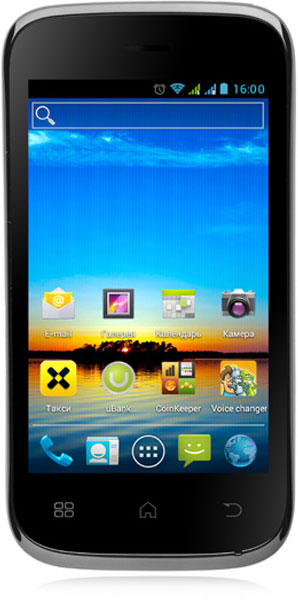 смартфон Fly IQ442 black