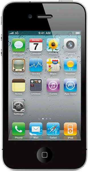 смартфон Apple iPhone 4S 16Gb black