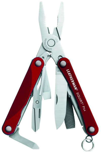 мультитул Leatherman Squirt PS4 red