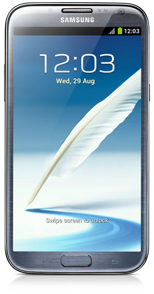 смартфон Samsung N7100 (Galaxy Note II 16Gb) titanium grey