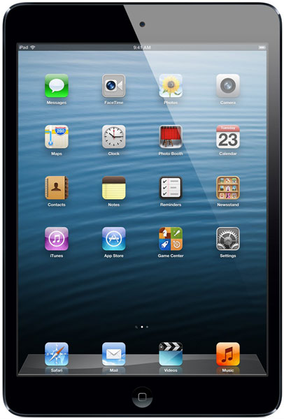 планшетный ПК Apple iPad Mini 64Gb Wi-Fi black