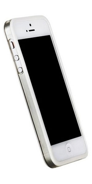 бампер Griffin iPhone 5 Bumper white