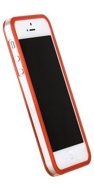 бампер Griffin iPhone 5 Bumper red