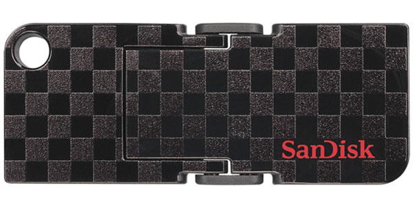 флешка USB SanDisk CZ53 Cruzer Pop Checkerboard 16Gb
