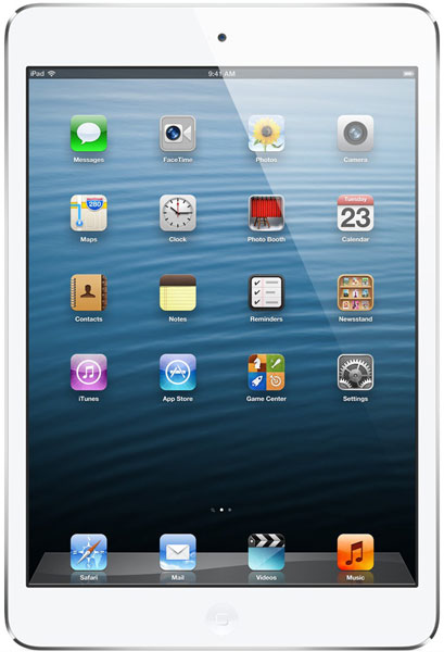 планшетный ПК Apple iPad Mini 64Gb Wi-Fi+Cellular white