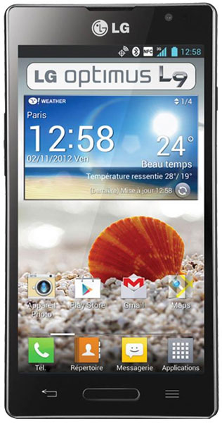 смартфон LG Optimus L9 P765 black