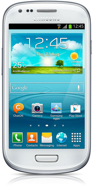 смартфон Samsung GT-i8190 Galaxy S III mini 8 Gb ceramic white