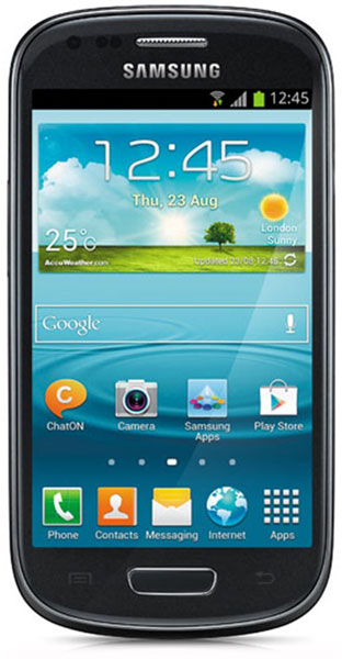 смартфон Samsung GT-i8190 Galaxy S III mini 8 Gb onyx black