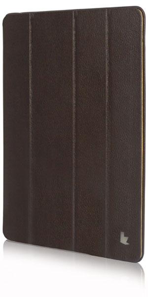 чехол JisonCase NEW iPad 4/iPad new/iPad 2 brown