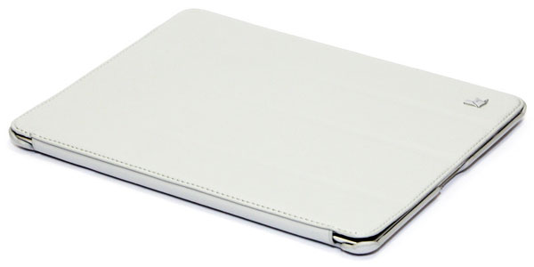 чехол JisonCase NEW iPad 4/iPad new/iPad 2 white