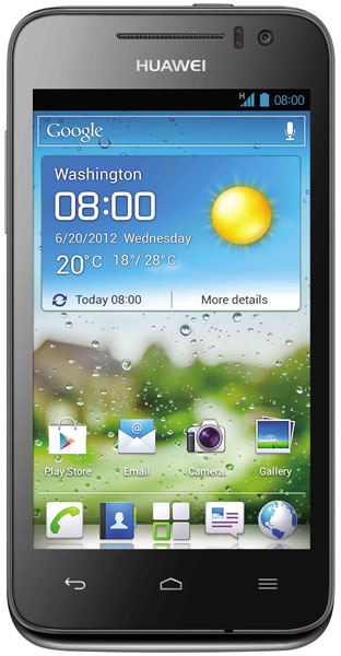 смартфон Huawei Ascend G330 dark grey