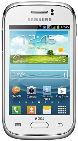 смартфон Samsung GT-S6312 (Galaxy Young) white