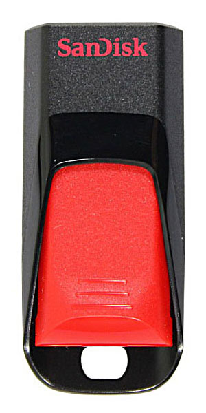 флешка USB SanDisk CZ51 Cruzer Edge 32Gb red