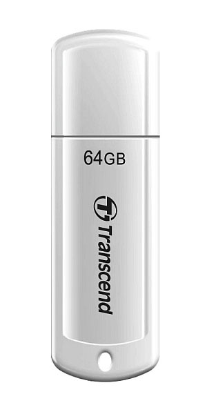 флешка USB Transcend TS64GJF370 64Gb white