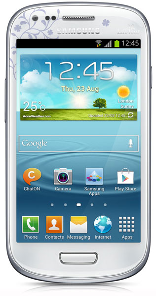 смартфон Samsung GT-i8190 Galaxy S III mini 8 Gb La Fleur white