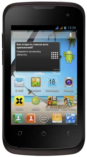 смартфон Fly IQ430 black
