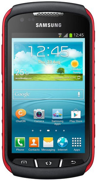 смартфон Samsung GT-S7710 ( Galaxy xCover 2) black red