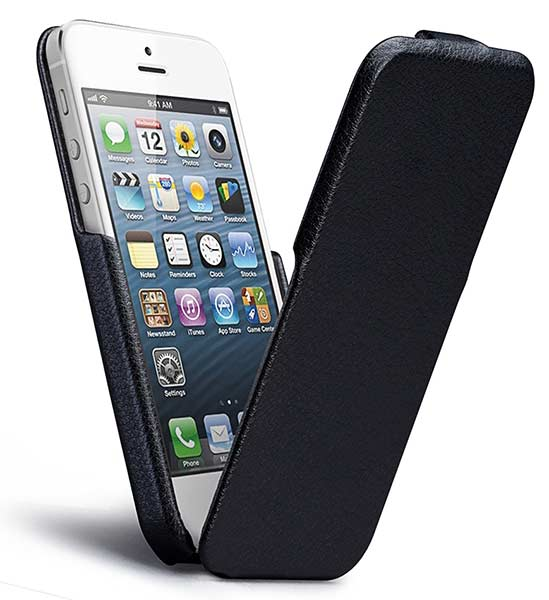 чехол Case-Mate Signatyre Flip CM022808 iPhone 5/5S black