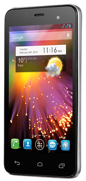 смартфон Alcatel One Touch Star Dual Sim 6010D gun grey
