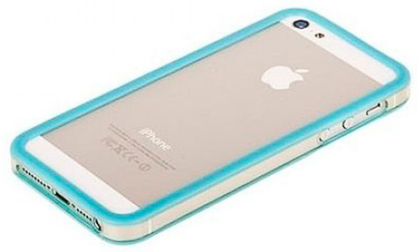бампер Griffin iPhone 5 Bumper blue