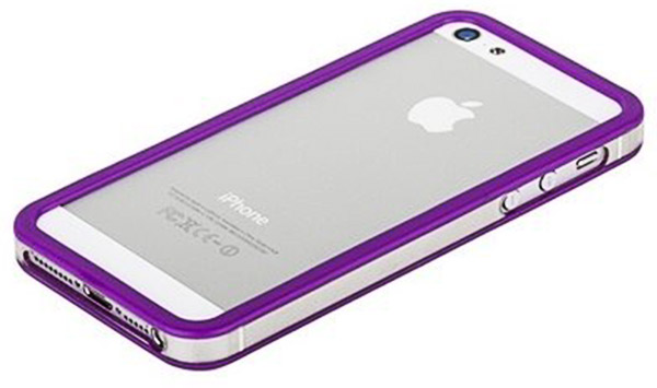 бампер Griffin iPhone 5 Bumper violet