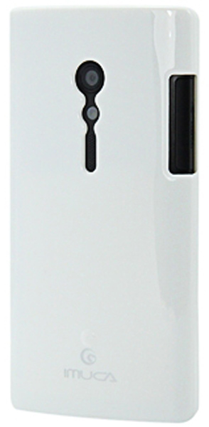 чехол IMUCA Sony LT28H XPERIA ION white