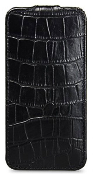 чехол Melkco iPhone 5 Jacka Type Crocodile PrintPattern black