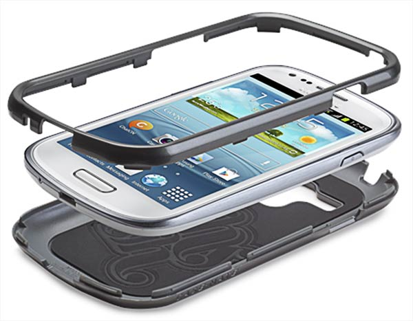 накладка Case-Mate Barely There CM024949 Samsung Galaxy S3 mini silver