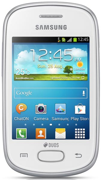 смартфон Samsung GT-S5282 (Galaxy Star) ceramic white