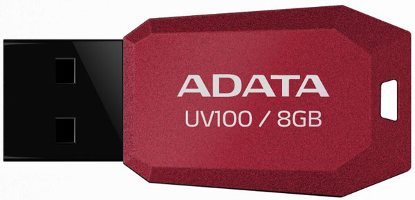 флешка USB A-DATA UV100 8Gb red