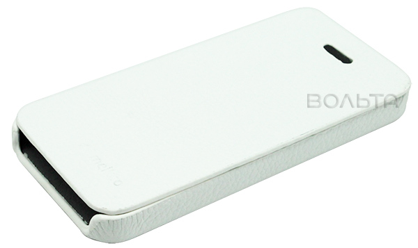 чехол Melkco iPhone 5 BookType white LC