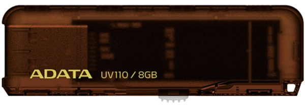 USB флешка A-DATA UV110 8Gb brown