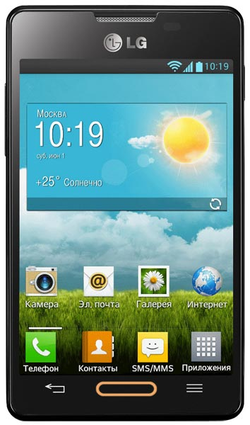 смартфон LG Optimus L4 II E440 black