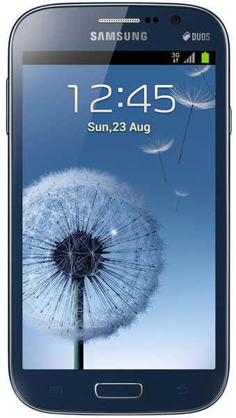 смартфон Samsung GT-i9082 Galaxy Grand metallic blue