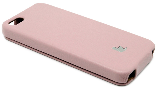 чехол JisonCase iPhone 5 light pink