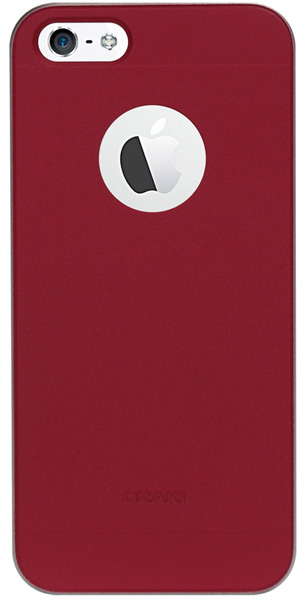 накладка Ozaki OC536 O!coat wardrobe iPhone 5/5S red