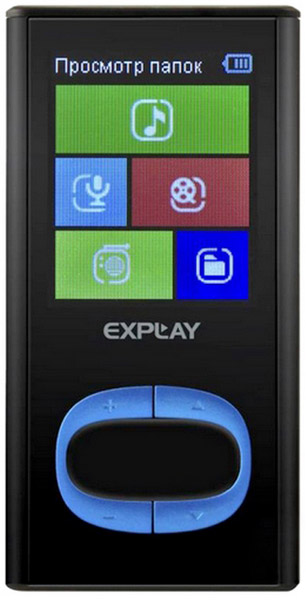 MP3 - плеер Explay C45 4Gb black/blue