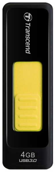 USB флешка Transcend TS4GJF760 4Gb black/yellow