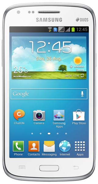 смартфон Samsung GT-I8262 (Galaxy Core) chic white