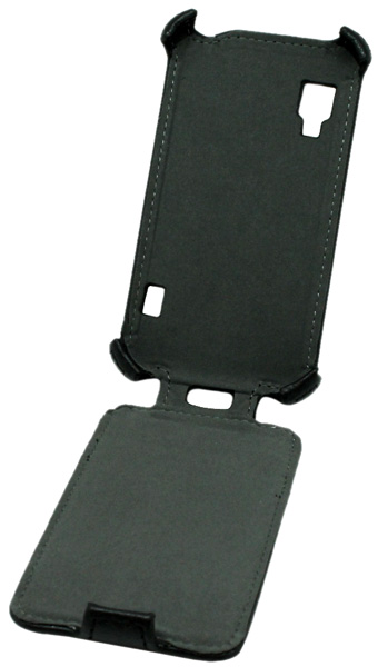 чехол iBox Premium LG Optimus L5 II Dual E455 Leather Case black